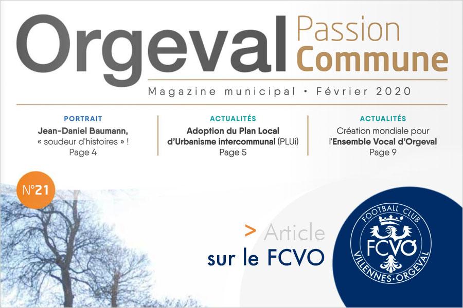 Orgeval Passion Commune n°21 - Février 2020