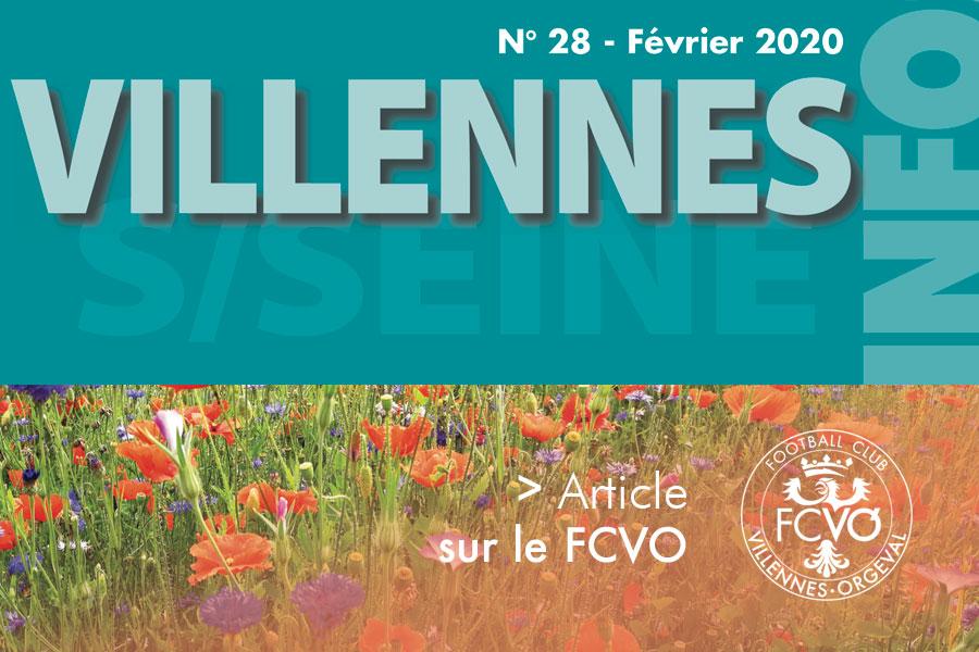Villennes Info n°28 - Février 2020