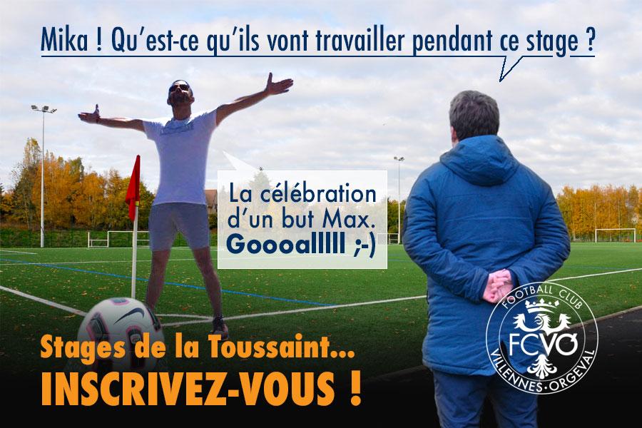 Stages de Football de la Toussaint FCVO