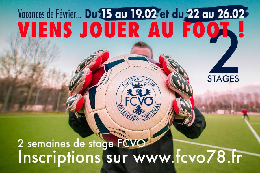 Stages de Football de Février FCVO